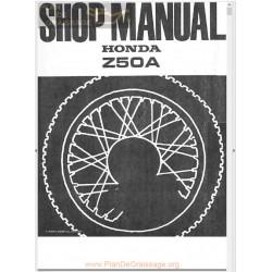 Honda Z50a Workshp Full