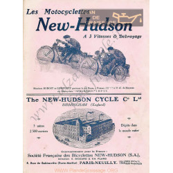 Hudson 1913 Catalogue Francais