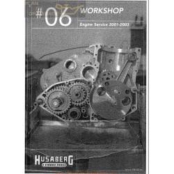 Husaberg 2001 2003 Manual De Reparatie