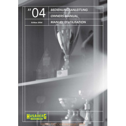 Husaberg 2004 Manual De Intretinere
