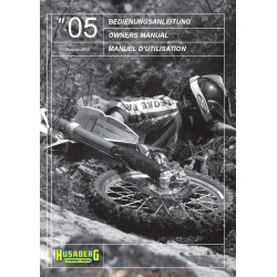 Husaberg 2005 Manual De Intretinere