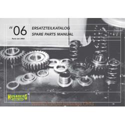 Husaberg 450 650 2006 Parts List