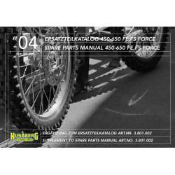 Husaberg 450 650 Fe Fs 04 Parts Manual