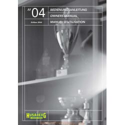 Husaberg 450 650 Fe Fs 2004 Manual De Intretinere
