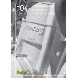 Husaberg 450 650 Fe Fs 2004 Manual De Reparatie