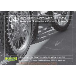 Husaberg 450 650 Fe Fs 2004 Parts List