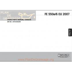 Husaberg Fe 550e Chassis 2007