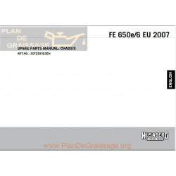 Husaberg Fe 650e Chassis 2007