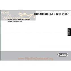 Husaberg Fe 650e Engine 2007