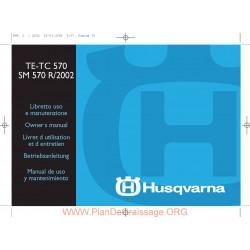 Husqvarna 2002 Te Tc Sm 570 Manual De Utilizare
