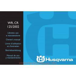 Husqvarna 2002 Wr Cr 125 Manual De Utilizare