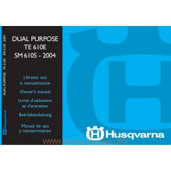 Husqvarna 2004 Te 610e Sm 610s Manual De Utilizare