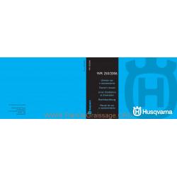 Husqvarna 2006 Wr 250 Manual De Utilizare