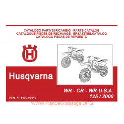 Husqvarna Cr Wr 125 2000 Parts List
