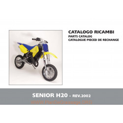 Husqvarna Senior H2o 2002 Parts List