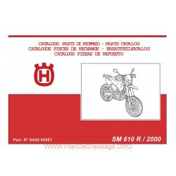 Husqvarna Sm 610r 2000 Parts List
