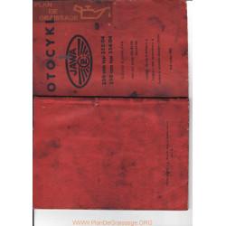 Jawa Navod K Obsluze J1959 Mod 354 04 350cc Mod 353 04 250cc Manual Usuario Checo