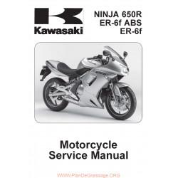 Kawasaki Er 6f Manual De Reparatie