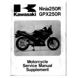 Kawasaki Gpx 250 R Ninja Ex 250 F2 F19 1988 2005 Manual Reparatie