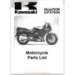Kawasaki Gpx 750r Pl 1987 1990