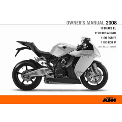 Ktm 1190 Rc8 2008 Manual De Intretinere