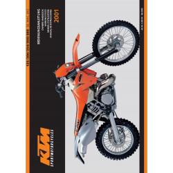 Ktm 125 200 250 300 380 Sx Mxc Exc 2001