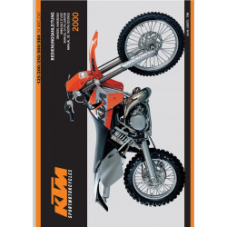 Ktm 125 200 250 300 380 Sx Mxc Exc Manuel Dutilisation 2000