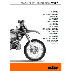 Ktm 125 200 250 300 Exc Six Xc Eu Usa Manual 2012