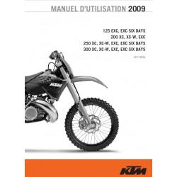 Ktm 125 200 250 300 Exc Xc Six Days 2009