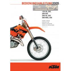 Ktm 125 200 250 300 Sx Exc Exc Mxc 2005