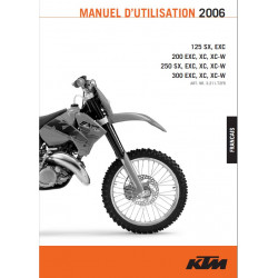 Ktm 125 200 250 300 Sx Exc Xc 2006