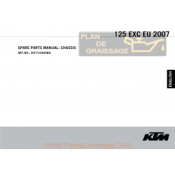 Ktm 125 Exc Eu Manuel Chassis 2007