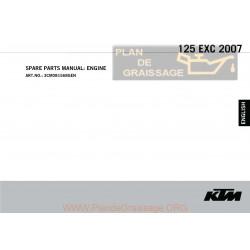 Ktm 125 Exc Manuel Moteur 2007