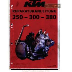 Ktm 250 300 380 Manual De Reparatie