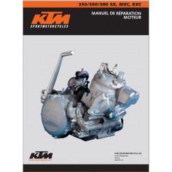 Ktm 250 300 380 Sx Mxc Exc Manuel Atelier