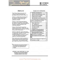 Kymco Bw 50 Manual De Reparatie