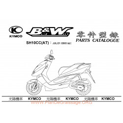 Kymco Bw50 2004