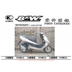 Kymco Bw50 Rr 2007