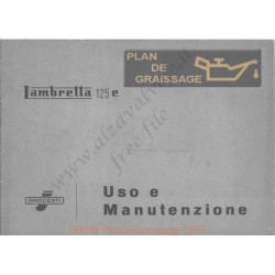 Lambretta 125 E Uso E Manutenzione