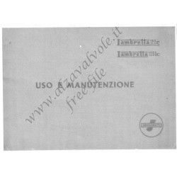 Lambretta 125c 125lc Uso E Manutenzione