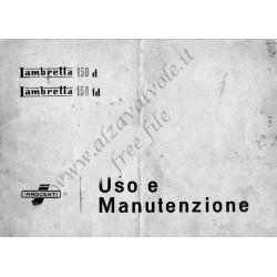 Lambretta 150d Uso E Manutenzione
