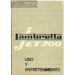 Lambretta Jet 200 Manual Usuario