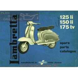 Lambretta Li150 Ii Despiece Ingles