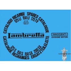 Lambretta Sx200 Li150s Li125s R