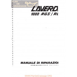 Laverda 1000 Rgs Y Rga Manual Reparaciones It Eng