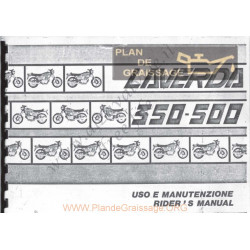 Laverda 350 500 1978 1982 Uso E Manutel