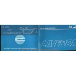 Laverda 50 Lz Manual Uso Y Manteniemiento Italiano