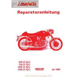 Laverda 650 750 1000 1200 Version 1966 1981 Libro Taller Aleman