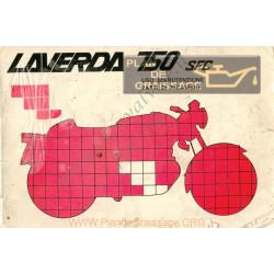 Laverda 750 Scf Serie 2 1974 Uso E Manutel