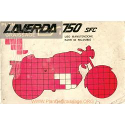 Laverda 750 Scf Serie 2 Version 1974 Despiece Uso Y Mantenimiento Italiano